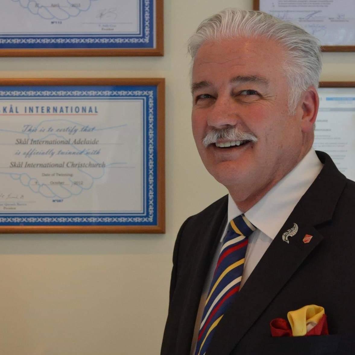 Peter Morrison, Skal International, New Zealand & 102 countries