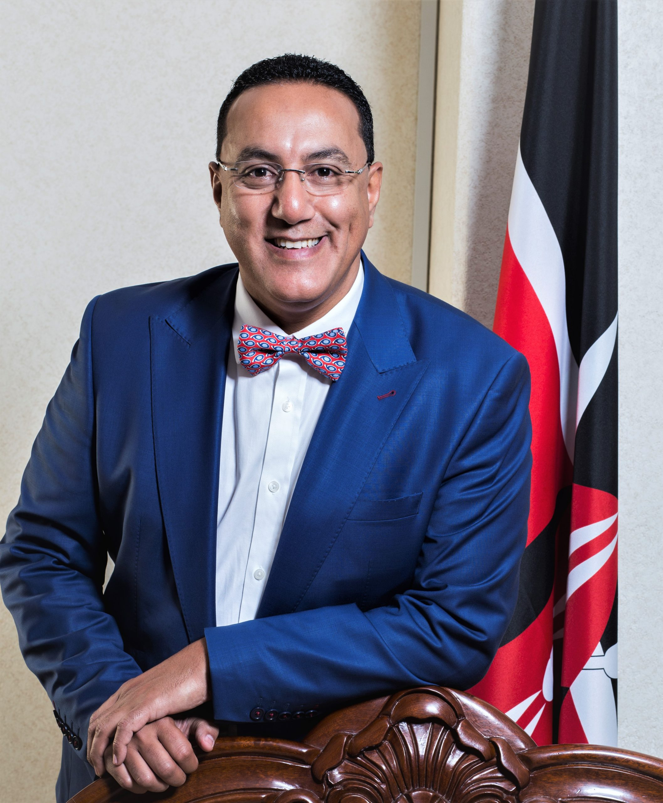 MINISTRY OF TOURISM AND WILDLIFE-KENYA, H.E. Hon. Najib Balala, Nairobi, Kenya
