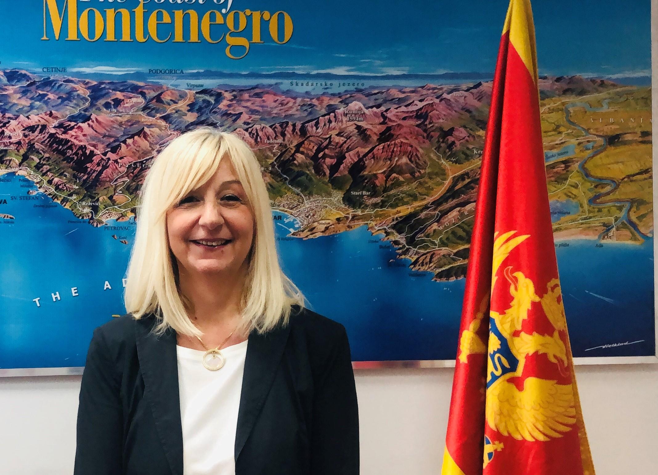 Montenegro Ministry of Sustainable Development and Tourism, Olivera Brajović, Montenegro
