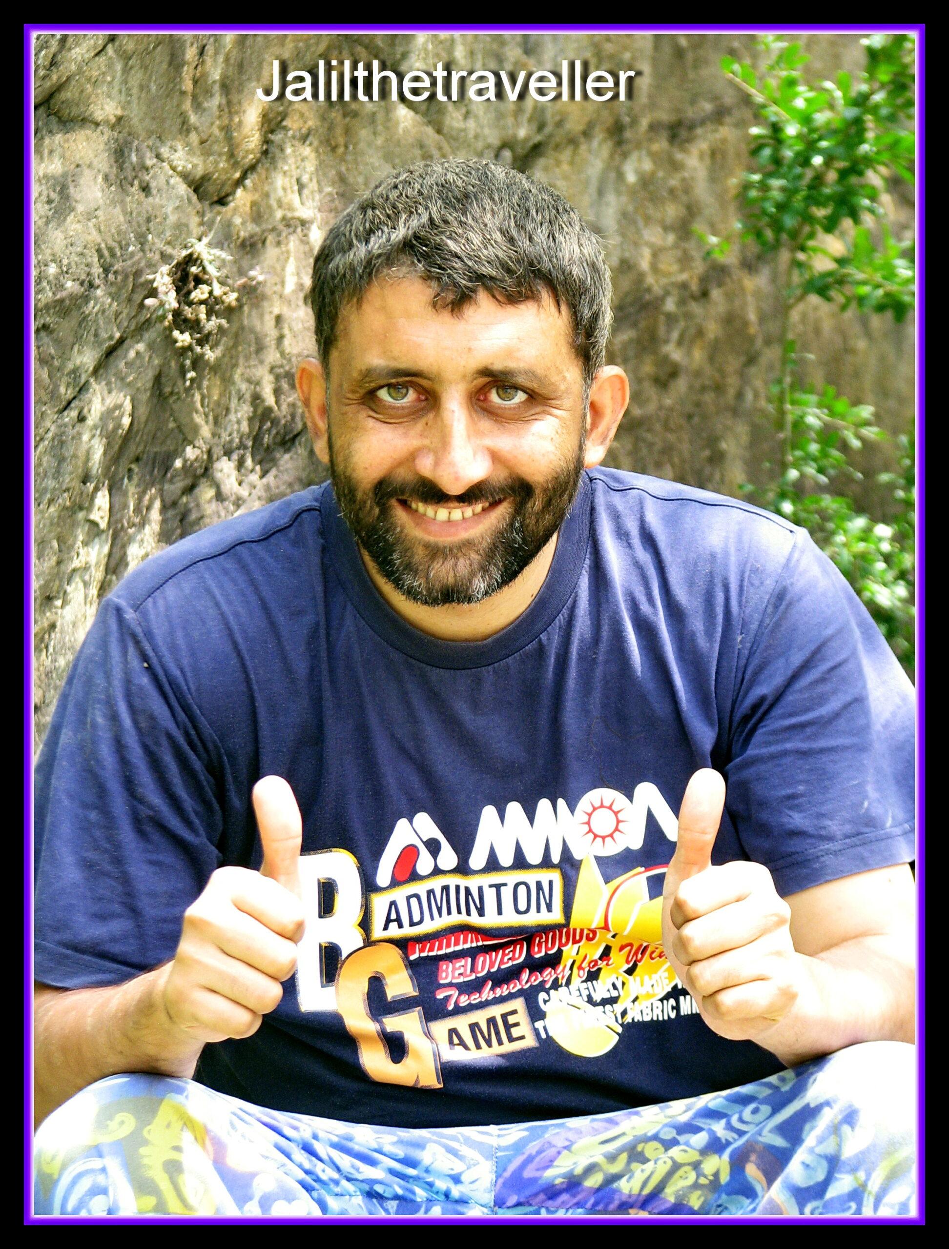 Jalil Ahmed, Registered Tour Guide (Free Lancer), Peshawar, Pakistan